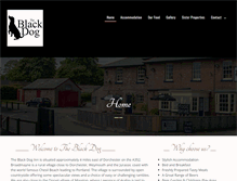 Tablet Preview of blackdogbroadmayne.co.uk